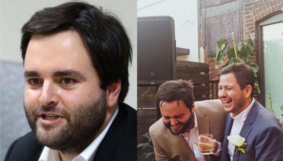 El exparlamentario del Partido Morado se casó con su pareja Diego Carranza. (Foto: Congreso de la República / @mjosorio)