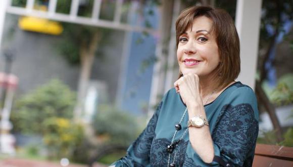 """""""No creo que se haga la película de Al fondo hay sitio"""", dijo Yvonne Frayssinet. (Anthony Niño de Guzmán/Perú21)"""