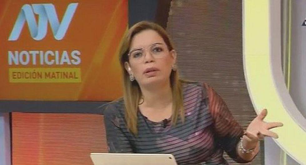 Leiva se despide de casa televisora tras dos años al frente de noticiero matutino. (Captura de TV)