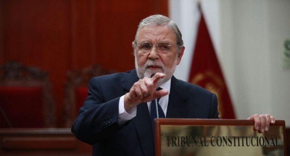 Ernesto Blume indicó que las modificaciones constitucionales deben realizarse con participación ciudadana. (Foto: GEC)