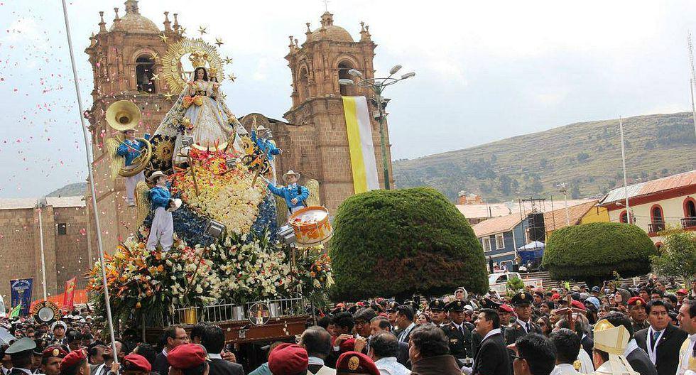 Miles se rinden a los pies de la Virgen de la Candelaria (GEC)
