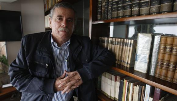 Exministro asegura que están armando todo para interpelación a Pedraza. (Mario Zapata)