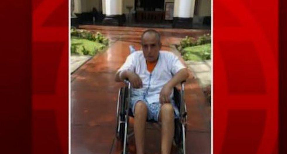 El señor está con salud delicada. (Foto: Captura/América Noticias)