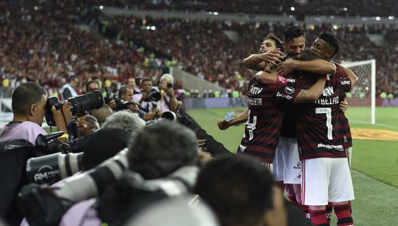 Flamengo es líder en el Brasileirao con 81 puntos, trece por encima que Palmeiras que es segundo. (Foto: AFP)