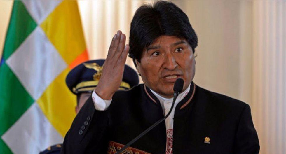 """El mandatario de Bolivia, Evo Morales, acusó a la oposición de buscar mecanismos para """"convulsionar el país, enfrentar al pueblo con nuestro proceso"""" político. (Foto: AFP)"""