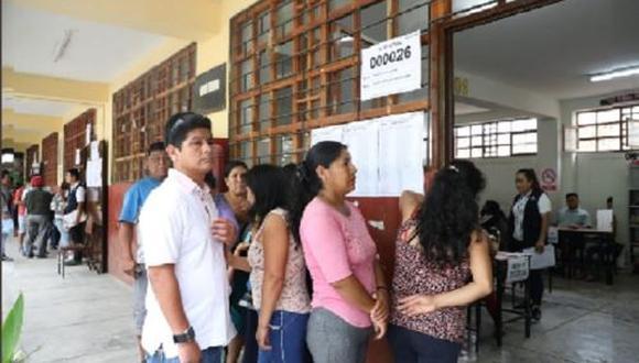 Un total de 10,781 electores acudieron a la consulta vecinal. (Foto: ONPE)
