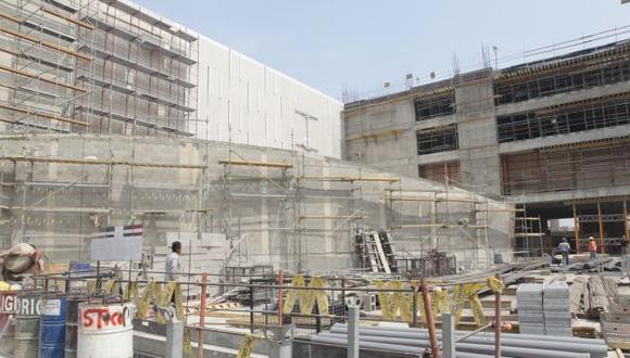La demanda de cemento refleja el dinamismo del sector construcción. (USI)