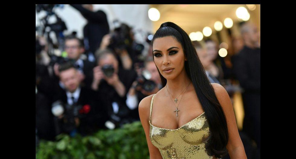 Publicación de Kim Kardashian tiene más de un millón de likes por parte de todos sus fanáticos de Instagram. AFP)