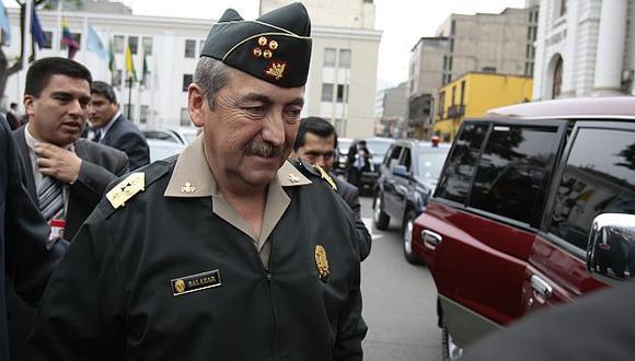 Salazar aclaró que el beneficio alcanzará al personal en actividad y en situación de retiro. (USI)