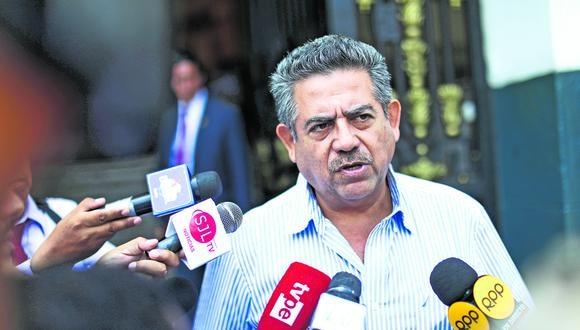 """Merino indicó que no se reanudará el trabajo presencial hasta que se """"tenga la certeza"""" que no hay riesgo de """"contagiar esta enfermedad"""". (Foto: GEC)"""