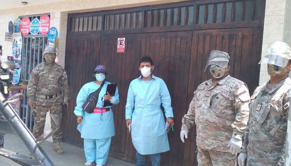 Coronavirus en Perú: operación Tayta se realizó diecisiete regiones del país y en Lima Metropolitana (Foto: Mindef)