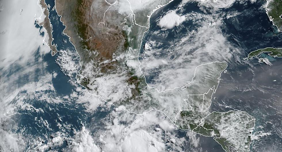 En México se registró un sismo de magnitud 7,5. (Foto: Handout / RAMMB/NOAA/NESDIS / AFP)