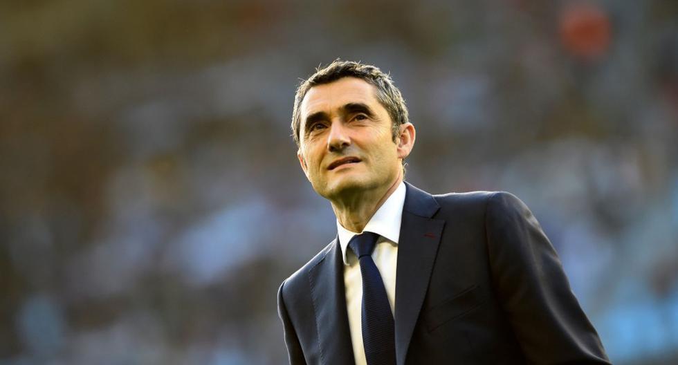 Ernesto Valverde (Foto: AFP).