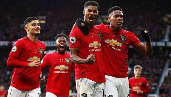 Manchester United apareció desde la primera versión del videojuego. (Agencias)