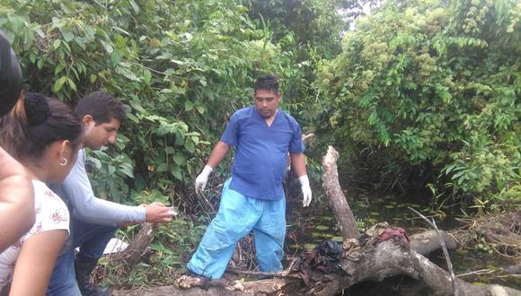 Sujeto descuartizó y quemó con gasolina a su 'amigo' en Tingo María. (Uranio TV)