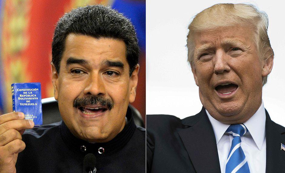 Nicolás Maduro comparó el bloqueo de Donald Trump a Venezuela con la persecución de Adolfo Hitler a los judíos. (Foto: AFP)