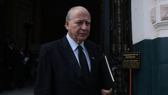 Manuel Dammert reemplazó en el cargo a Javier Diez Canseco. (Peru21)