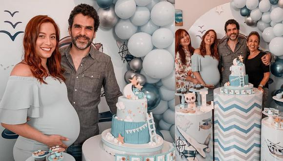 Natalia Salas disfrutó un tierno baby shower virtual. (Instagram: @nataliasalasz)