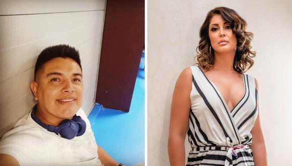 Karla Tarazona criticó la actitud de Leonard León. (Foto: Instagram / @latarazona / @leonardleoncito).