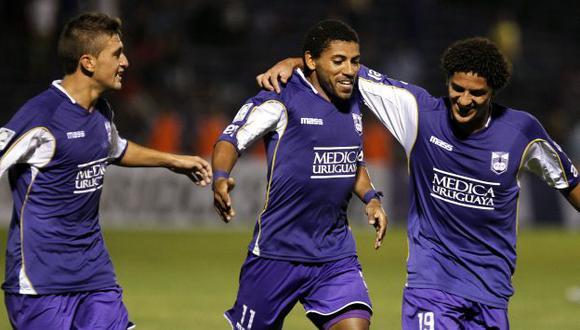 Copa Libertadores 2014: Defensor Sporting ganó 2-0 a Cruzeiro y es líder. (EFE)