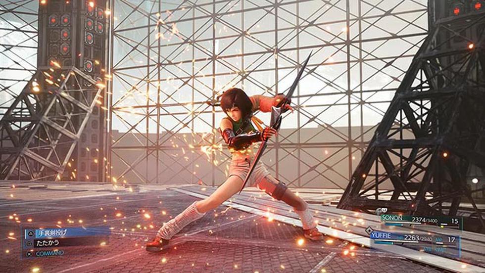 'Final Fantasy VII Remake Intergrade' llegará para PlayStation 5 el 10 de junio.