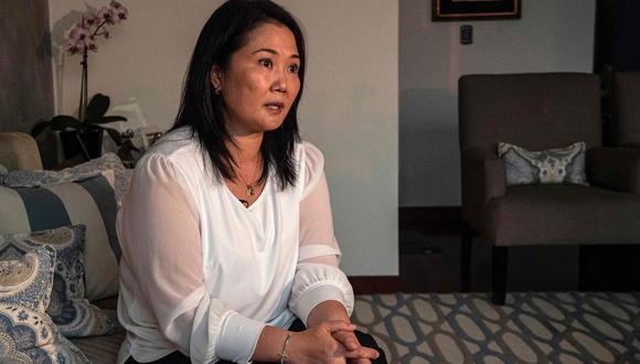 Keiko Fujimori cuestionó las declaraciones del presidente Francisco Sagasti respecto a las vacunas del COVID-19. (Foto: Archivo GEC)