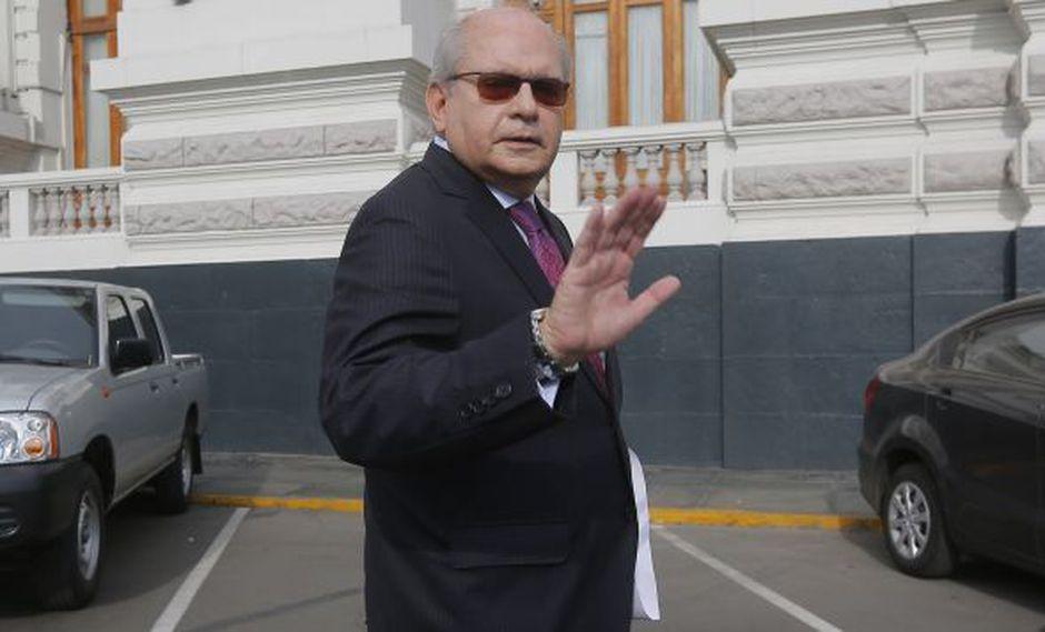 """Pedro Cateriano afirma que si PPK indulta a Alberto Fujimori """"deterioraría la imagen del país"""". (David Huamaní/Perú21)"""