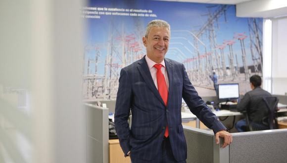 Carlos Mario, gerente general de ISA REP. (Foto: Manuel Melgar)