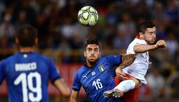 Italia vs. Polonia se miden por la Liga de Naciones de UEFA (Foto: AFP).