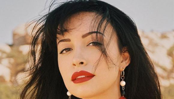 """En """"Selena, la serie"""", la Reina del Tex-Mex fue interpretada por Christian Serratos (Foto: Netflix)"""