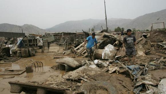 DESTRUCCIÓN TOTAL. La furia de la naturaleza acabó con todo a su paso y dejó a miles sin hogar. (Rochi León)