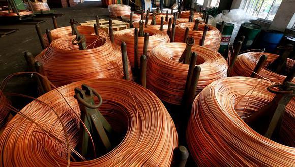 La producción de cobre aumentó 0.8% con respecto a 2018. (Foto: Reuters)