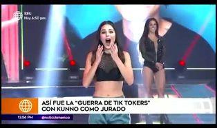 """Luciana Fuster impresiona a Kunno y es elegida como la """"Reina del TikTok"""""""