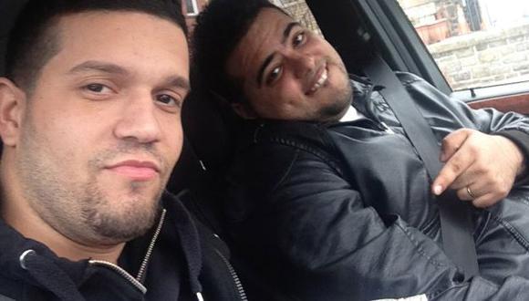 Con las manos en la masa. Rodríguez, uno de los detenidos, tomó estas fotos con su celular. (Reuters)