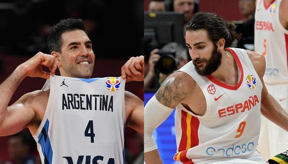 Argentina vs. España jugarán una final de habla hispana pero y que será disputada de inicio a fin. (Fotos: AFP)