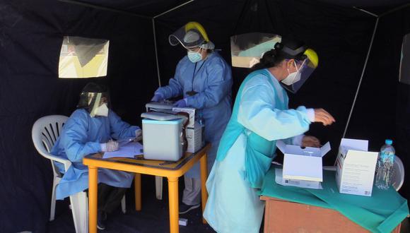 Piura: realizaron campaña de vacunación contra la influenza en Talara (Foto: Municipalidad Provincial Talara).