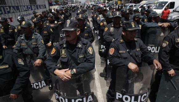 Se incautó 41 armas de fuego y se desarticularon 88 bandas criminales. (USI)