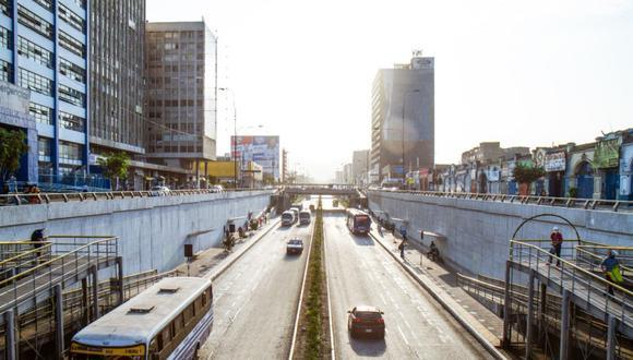 Municipalidad de Lima amplía autorización para que taxis y autos particulares circulen por Vía Expresa Grau. (Foto: MML)