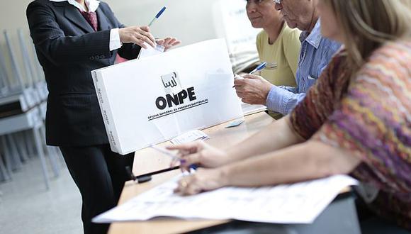 ONPE detectó aportantes sospechosos en la reciente campaña electoral. (USI)