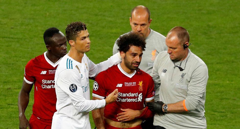 Sergio Ramos lideró a Real Madrid en la final ante Liverpool por el título de la Champions League. (REUTERS)