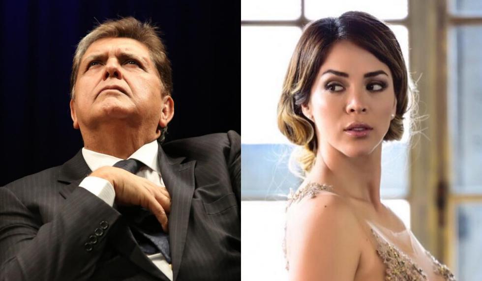 Sheyla Rojas se pronunció sobre el suicidio de Alan García. (Composición)