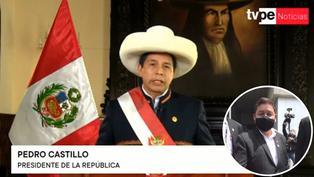 Presidente Castillo acepta la renuncia de Guido Bellido
