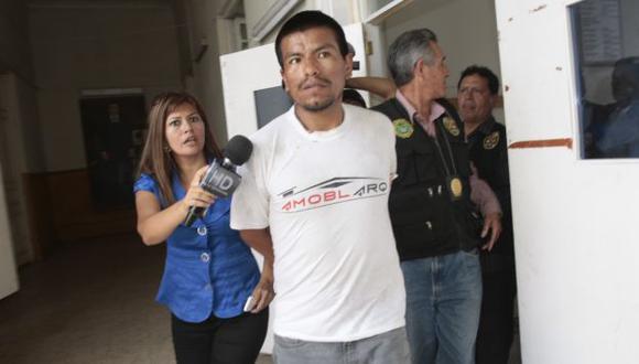 Lo llevan al Castro Castro. (USI)