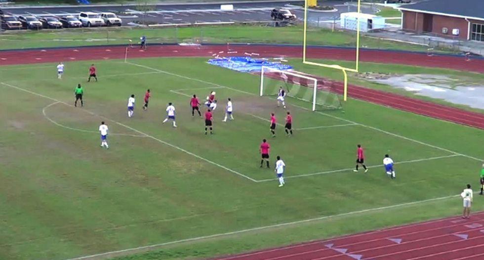 Esta gran jugada ocurrió en Estados Unidos, un país donde no muchos juegan fútbol (Captura)