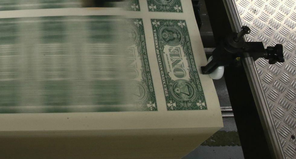 El dólar cerró al alza el viernes. (Foto: AFP)