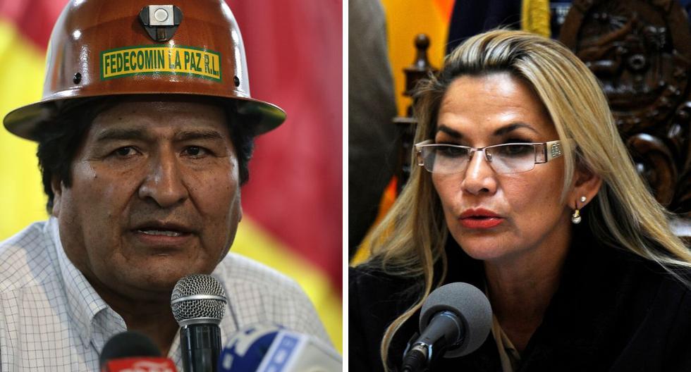 """Jeanine Añez calificó a Morales como ·una persona violenta que está enloquecida porque ha perdido el poder"""". (Foto: AFP)"""