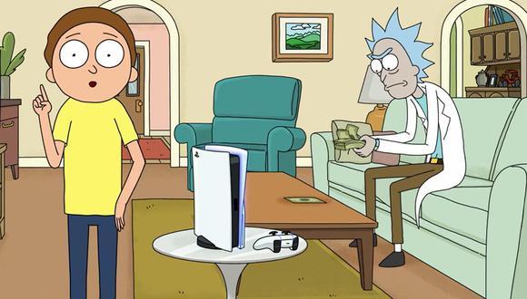 'Rick and Morty' protagonizan un nuevo y divertido comercial de PlayStation 5.
