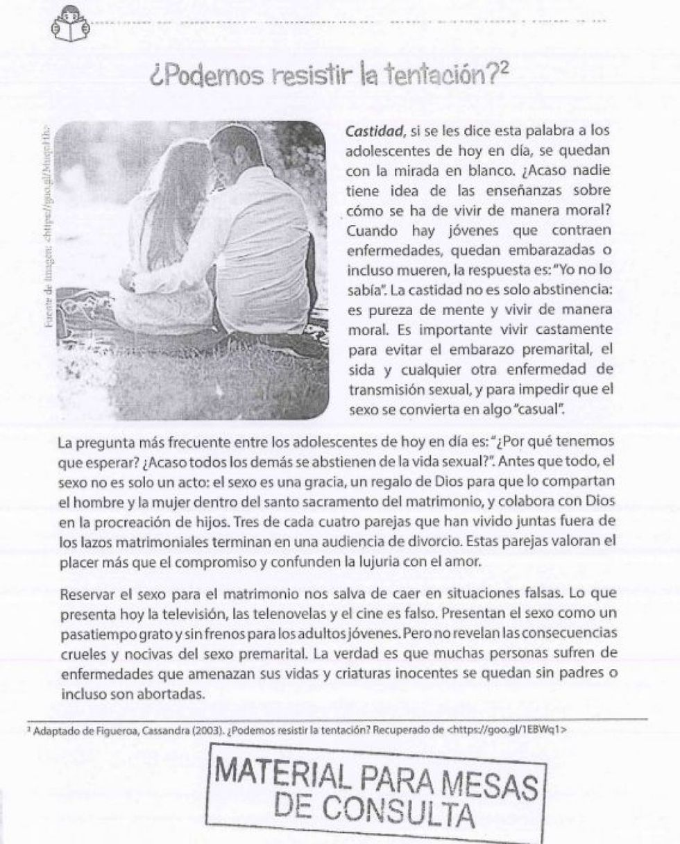 Página 40. Comprensión Lectora 5 – Cuaderno de trabajo para estudiantes de 5to de secundaria, 2017 / Manual para el docente, 2018.