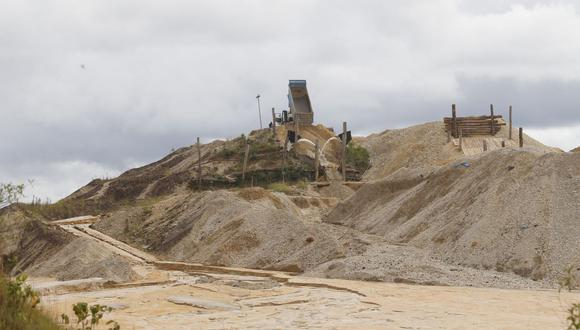 Minería informal en el distrito de Huepetuhe, en la región de Madre de Dios. (Foto: GEC)