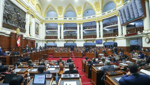La sesión se realizará de manera semipresencial. (Foto: Congreso)